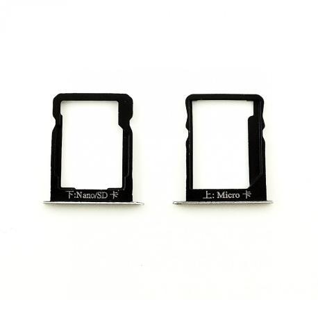 Bandeja de Tarjeta SIM y SD para Huawei Ascend Mate 7 - Blanca