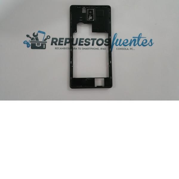 Carcasa intermedia con lente Unusual 55X 55Y negra - Recuperada