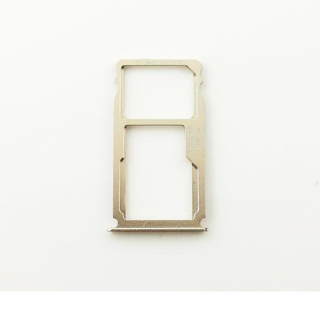 Bandeja de Tarjeta SIM y MicroSD para Huawei Mate S - Oro