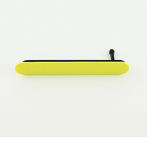 Tapa de Tarjeta SIM y SD Original para Sony Z5 Compact E5823 - Amarilla