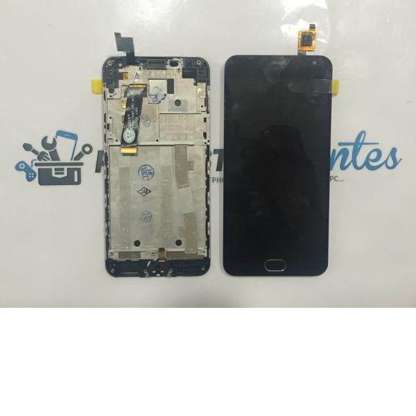 Pantalla Lcd Display + Tactil con Marco Meizu M2 (Meilan 2) - Negra