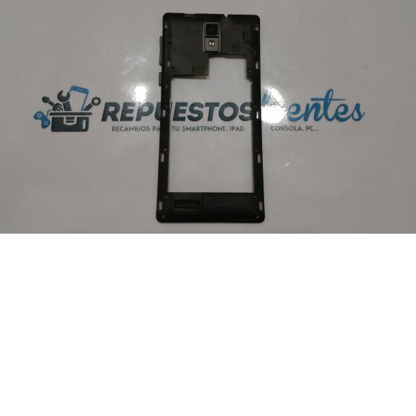Carcasa intermedia con lente Szenio Syreni 550 negra - Recuperada