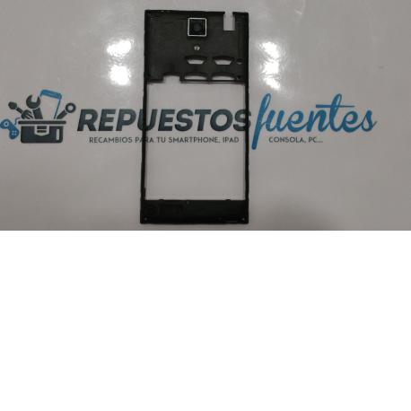 Carcasa intermedia con lente Blusens Smart Pro 8w negra - Recuperada
