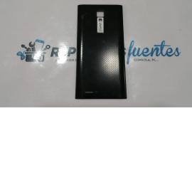 Carcasa trasera de la bateria movil OYE Mas negra - Recuperada