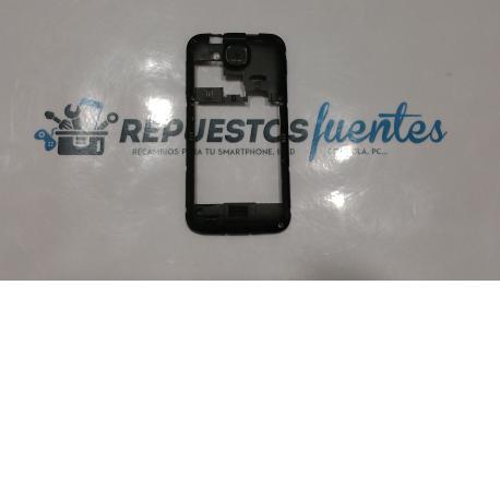 Carcasa intermedia con lente Yezz A4MBK negra - Recuperada