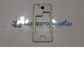 Carcasa intermedia con lente Avenzo SmartPhone Xirius 5.5 blanca - Recuperada