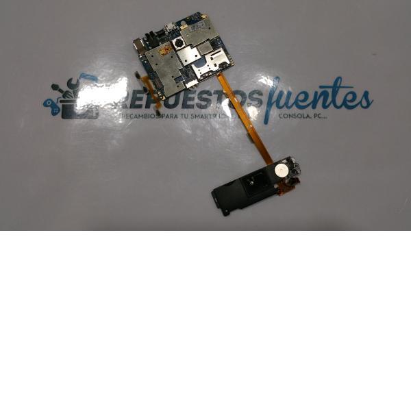 Placa base original + flex de conexio y modulo antena Avenzo SmartPhone Xirius 5.5 - Recuperada