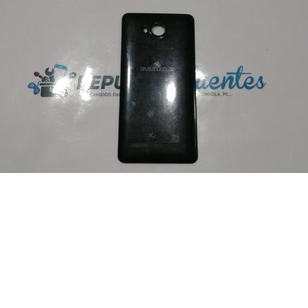 Carcasa trasera de la bateria Avenzo SmartPhone Xirius 5.5 negra - Recuperada