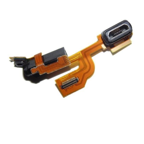 Flex Conector de Carga Micro USB y Jack de Audio para Nokia Lumia 925
