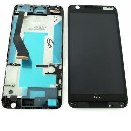 Pantalla LCD Display + Tactil con Marco para HTC Desire 820 - Negra