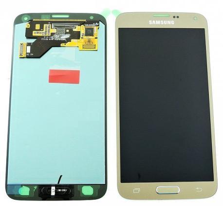 Pantalla LCD Display + Tactil Original para Samsung Galaxy S5 Neo G903F - Oro  LIQUIDACION