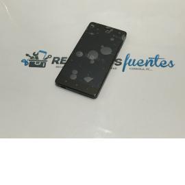 Repuesto Pantalla Tactil + LCD Display con Marco Xiaomi MI4 - NEGRA