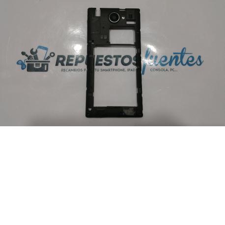 Carcasa intermedia con lente WOXTER ZIELO Z -420 , Z-800  negra - RECUPERADA