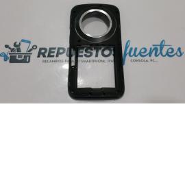 Carcasa intermedia con lente SAMSUNG GALAXY K ZOOM SM - C115 negra - Recuperada