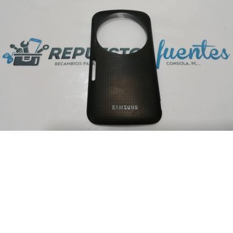 Carcasa trasera de la bateria SAMSUNG GALAXY K ZOOM SM - C115 negra - Recuperada