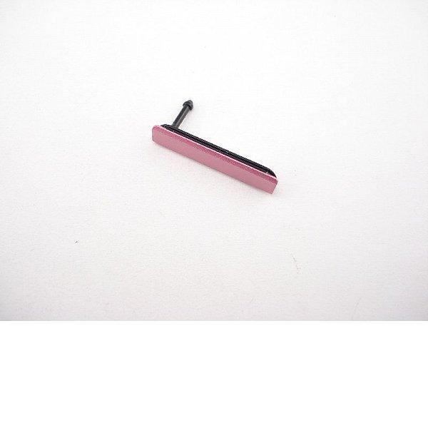 Tapadera de Tarjeta SIM Original para Sony Xperia Z1 Compact D5503 - Rosa