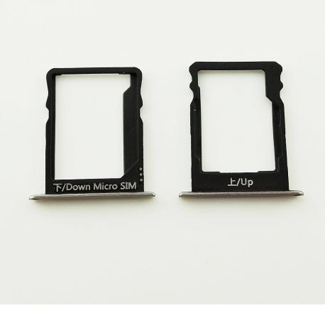 Bandejas de Tarjeta SIM y SD Original para Huawei P8 Lite - Oro