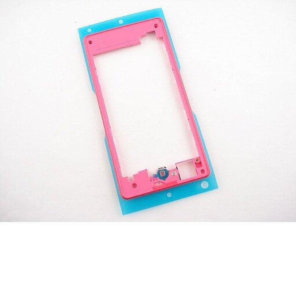 Marco Intermedio para Sony Xperia Z1 Compact Z1C M51W D5503 - Rosa / Recuperado