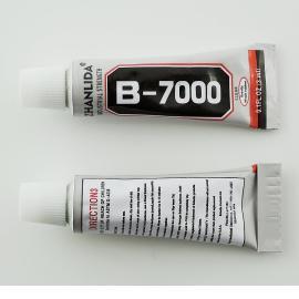 Pegamento adhesivo gel claro multi- propósito para Pegar cristales B-7000 3ml