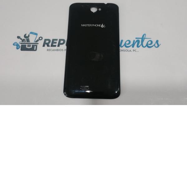 Carcasa trasera de la bateria MasterPhone 6S negra - Recuperado