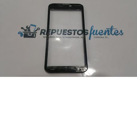 Marco frontal MasterPhone 6S negro - Recuperado