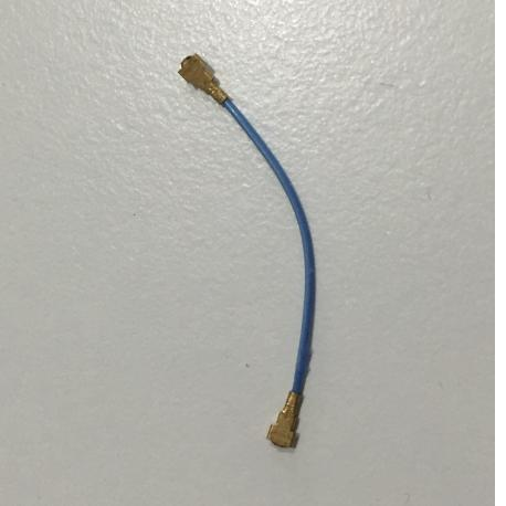 Cable Coaxial para HTC One M7 - 30mm / Azul