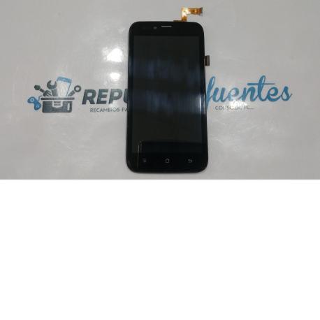 LCD Display + tactil con marco Wolder mismart Wink 2 negra - Recuperada