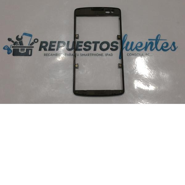 Marco frontal LG OPTIMUS F60 D390 negro - Recuperado
