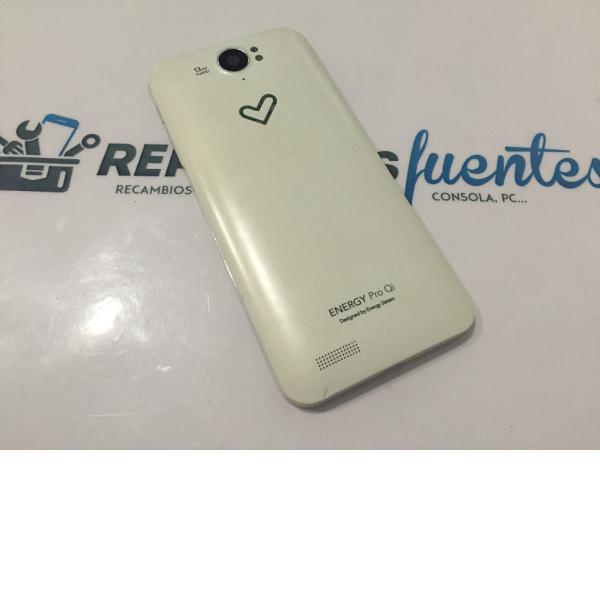 Tapa Trasera Original Sistem Phone Pro Qi - Recuperada
