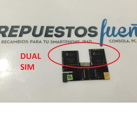 Flex Lector Dual Sim y Sd Original HTC Desire 500 - Recuperado
