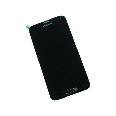 Pantalla Super AMOLED Original para Samsung Galaxy S5 - Negro