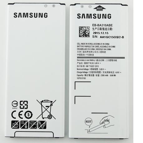 Bateria EB-BA310ABE para Samsung SM-A310F Galaxy A3 (2016) de 2300mAh