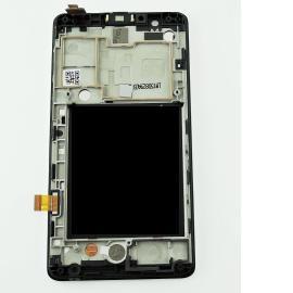 Pantalla LCD Display + Tactil con Marco Original para Lenovo A536 - Negro