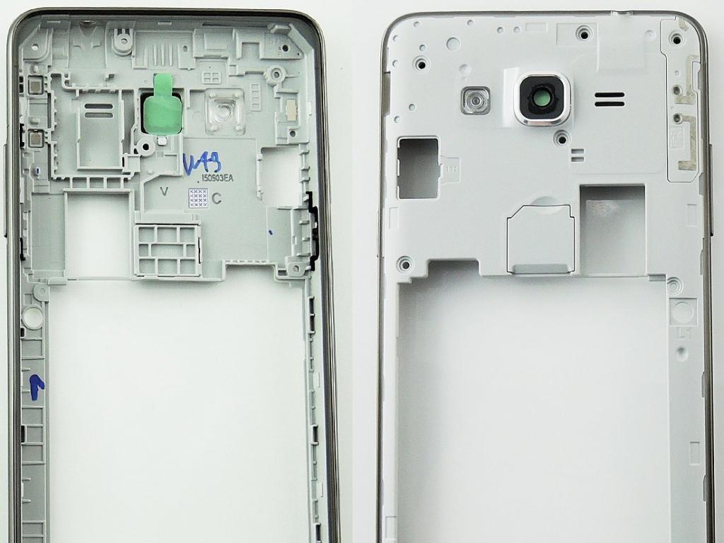d8122b1a39a Carcasa Intermedia con Lente para Samsung G531F Galaxy Grand Prime VE