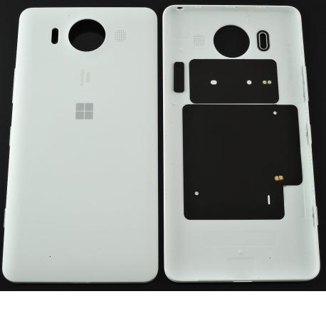 Tapa Trasera de Bateria Original para Microsoft Lumia 950 - Blanco