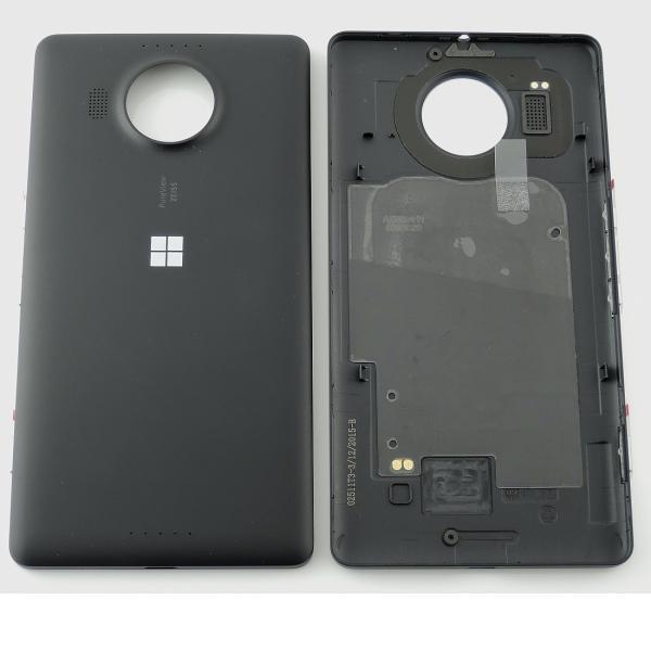 Tapa Trasera de Bateria Original para Microsoft Lumia 950 XL - Negra