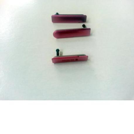 Set de Tapaderas para Sony Xperia Z1 Compact D5503 - Rosa