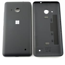 Tapa Trasera de Bateria Original para Microsoft Lumia 550 - Negra