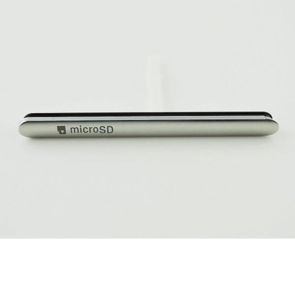 Tapadera de Tarjeta SIM y SD Original para Sony Xperia M5 E5603/ E5606/ E5653 - Blanca