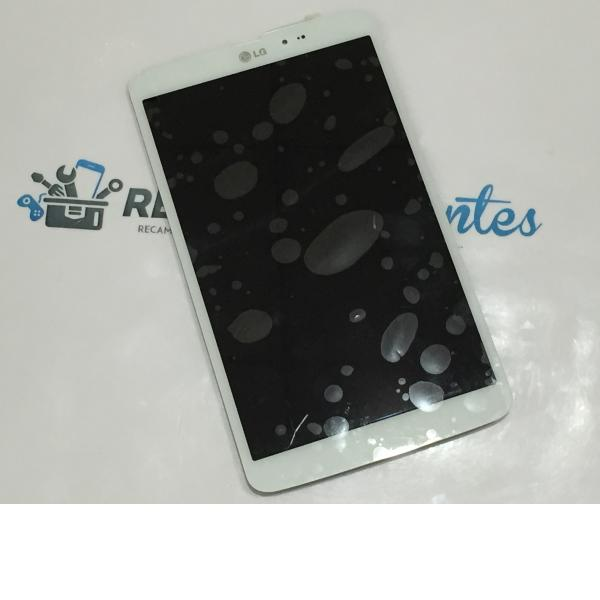 Pantalla LCD Display + Tactil para LG G Tablet Pad 8.3 V500 3G - Blanca