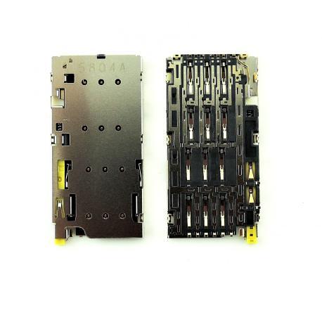 Lector de Tarjeta SIM para Sony Xperia Z5 Dual E6633, E6683, Z5 Premium Dual E6883