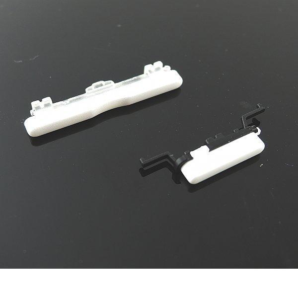Boton de Encendido y Volumen para Smasung Galaxy J1 J100 - Blanco