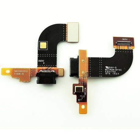 Flex Conector de Carga Micro USB y Microfono para Sony Xperia M5 E5603/ E5606/ E5653