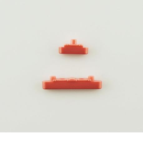Boton de Camara y Volumen para Sony Z5 compact E5823 - Rosa