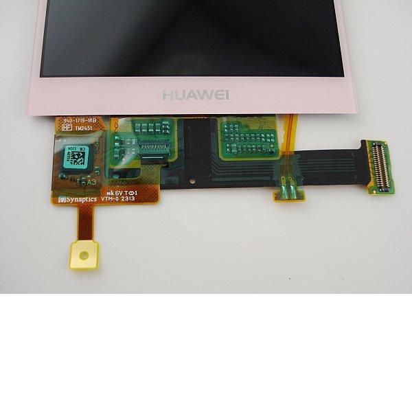 Pantalla LCD Display + Tactil para Huawei P6 - Rosa