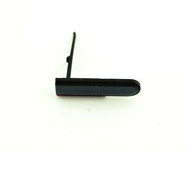 Tapa Jack de Audio para Sony Xperia M2 Aqua D2403 D2406 - Negra