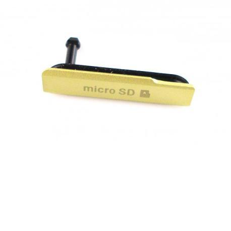 Tapa de Tarjeta MicroSD para Sony Xperia Z1 Compact Z1C M51W D5503 - Amarilla
