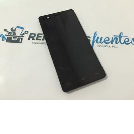 Pantalla Lcd display + Tactil con Marco Original Bq Aquaris E5 HD TFT5K0858FPC-A1-E - Recuperada