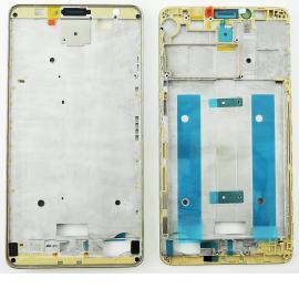Carcasa Frontal para Huawei Mate 7 - Oro