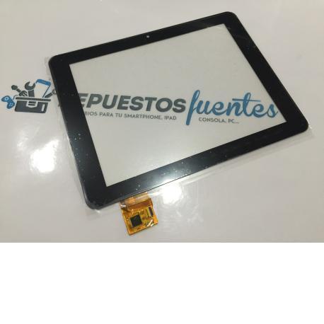 Repuesto Pantalla Tactil para Tablet Wolder miTab NEO de 8 Pulgadas - Negro
